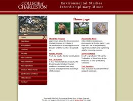 College of Charleston Environmental Studies Minor